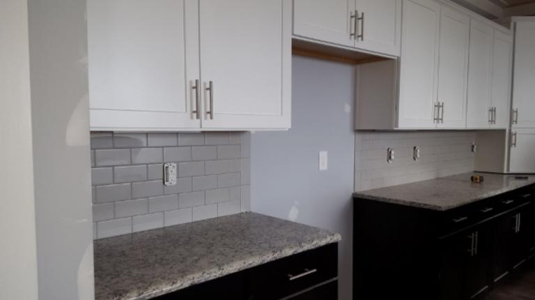 granite and tile