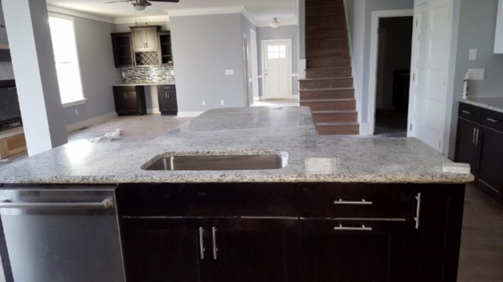 granite in kitchen