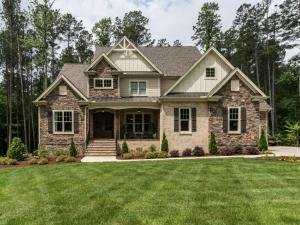 ICG custom home exterior