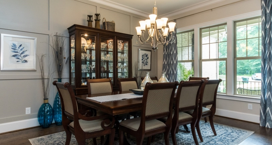 ICG custom home dining room
