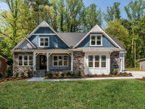 ICG Custom Home Colonial Ridge exterior