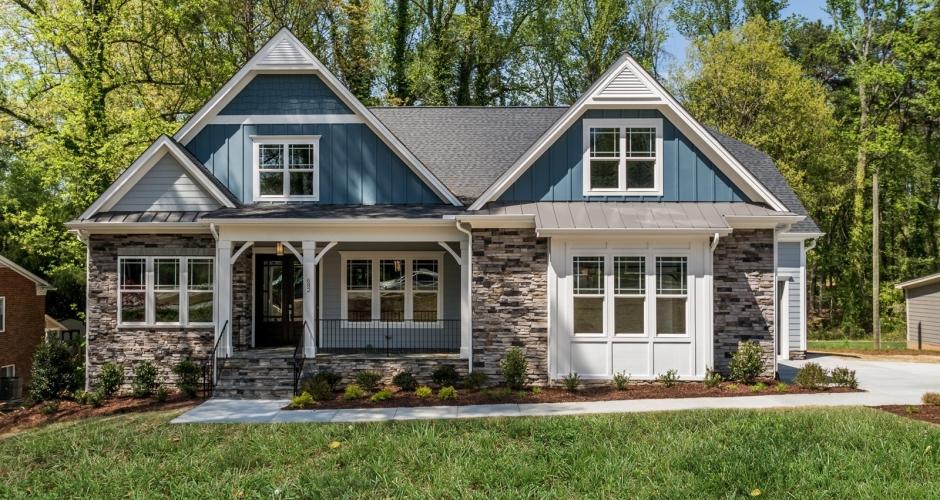 ICG Custom Home Colonial Ridge exterior