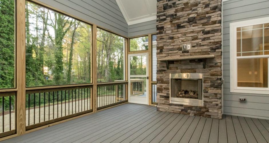 ICG Custom Home Colonial Ridge - outdoor living