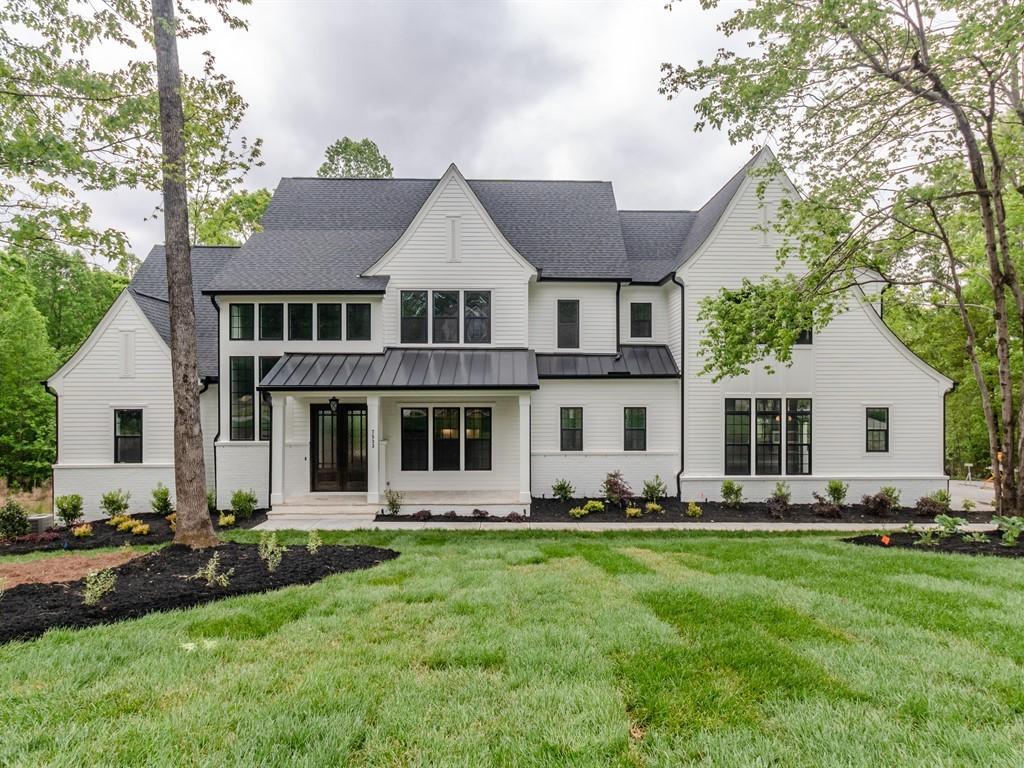 pre-sale custom home front exterior