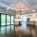 pre-sale custom home open floor plan