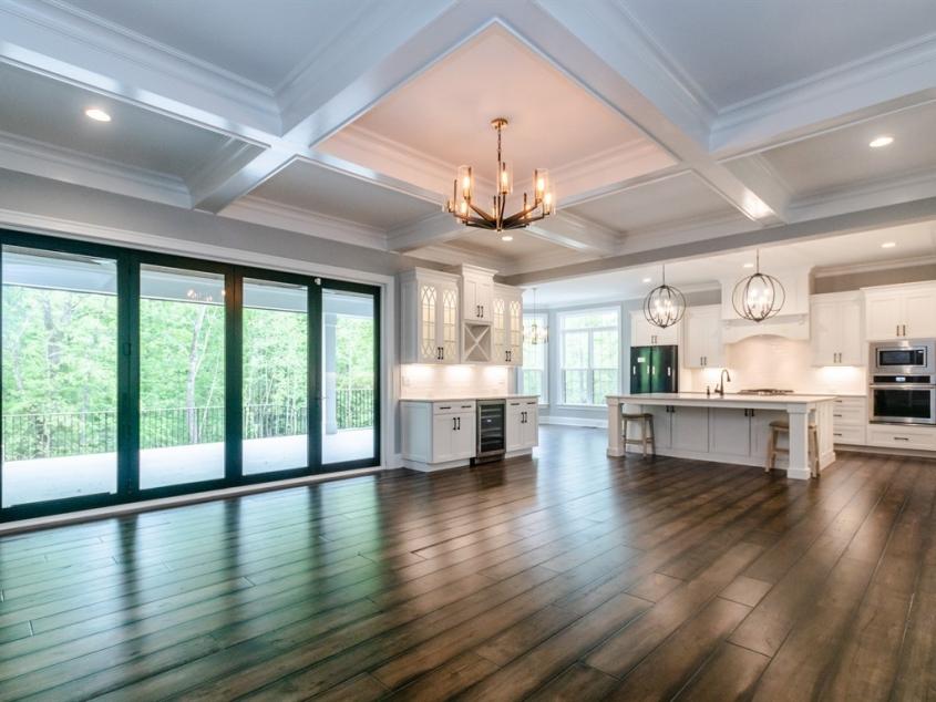 pre-sale custom home open floor plan