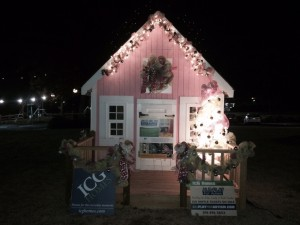 Christmas playhouse
