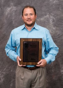 Ryan Perry with Parade Award