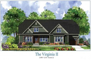 215 Beech Slope Court (Lot 8) in Chapel Hill's Westfall