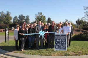 Westfall Ribbon Cutting on October 25, 2016